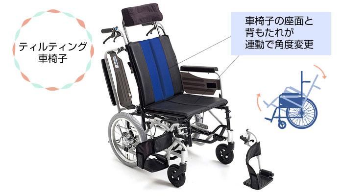 ティルティング車椅子とは