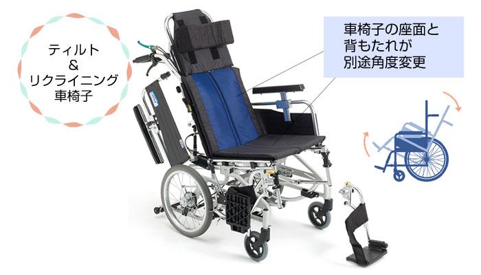 ティルト&リクライニング車椅子とは
