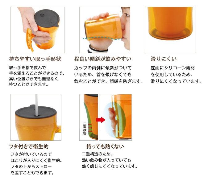 テイコブマグカップ C02 [介護食器]の機能