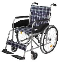 【ケアテックジャパン】 自走式スチール車椅子 ウィッシュ CS-10